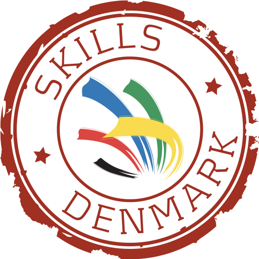 Logo for DM i Skills/SkillsDenmark